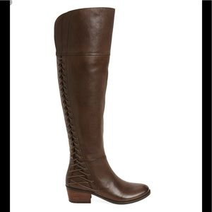 Vince Camuto Bolina over the knee boots wide calf